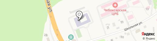 Средняя общеобразовательная школа №1 на карте Кугесей