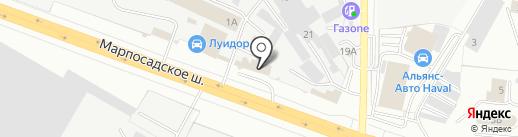 ВАШ ДОМ на карте Чебоксар