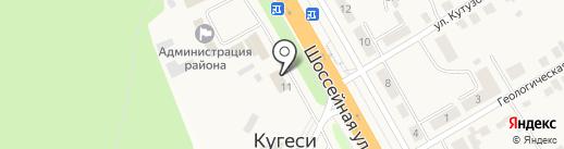 Поплавок на карте Кугесей