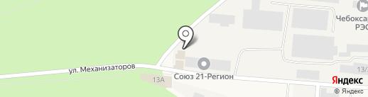Техагромаш на карте Кугесей