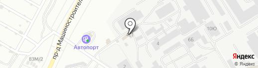 Компания грузоперевозок на карте Чебоксар