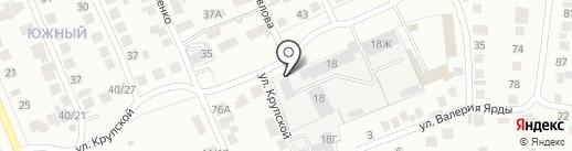 ЛИЛ на карте Чебоксар