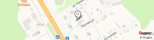 Землемер на карте Кугесей