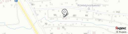 Медовая на карте Чебоксар