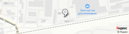 Комплект Про на карте Чебоксар