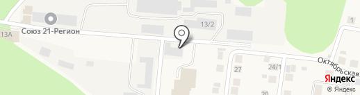 Банкомат, Россельхозбанк на карте Кугесей