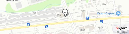 АргонАвто на карте Чебоксар