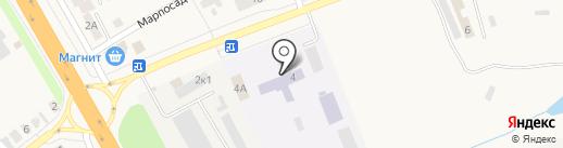 Нива на карте Кугесей