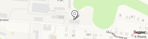 Чебоксарскагропромтехсервис на карте Кугесей