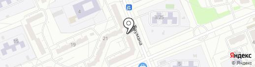 Алина на карте Чебоксар