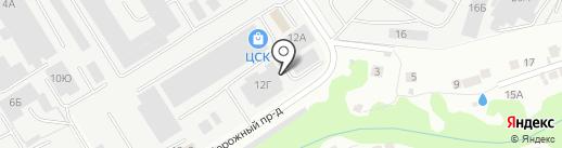 Афтора на карте Чебоксар