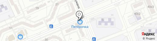 Любимчики на карте Чебоксар