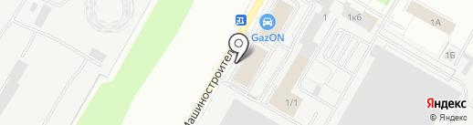 АВТОРИТЕТ на карте Чебоксар