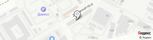 Sokrof на карте Чебоксар