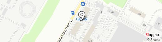 Bot service на карте Чебоксар