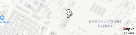 Мир камней на карте Чебоксар