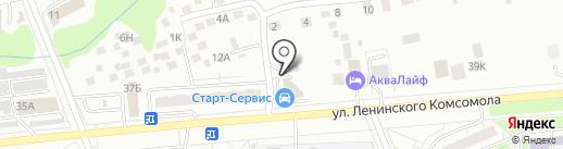 Энергия-Авто на карте Чебоксар