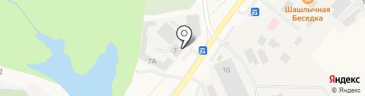 Оптовая компания на карте Кугесей