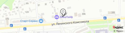 City dance на карте Чебоксар
