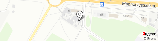 АБ-АВТОСЕРВИС на карте Чебоксар