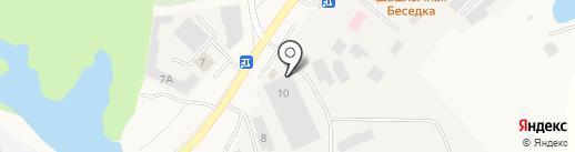 Водстрой на карте Кугесей