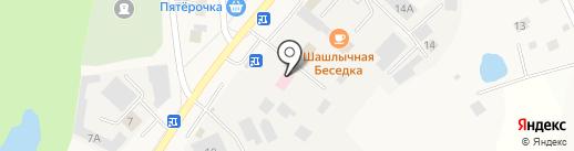 Чебоксарская районная станция по борьбе с болезнями животных на карте Кугесей