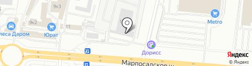 Общепит на карте Чебоксар