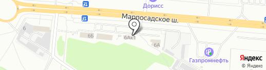 Центр Шин на карте Чебоксар