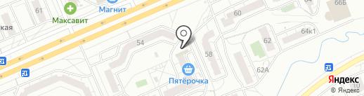 Магазин детской одежды на карте Чебоксар