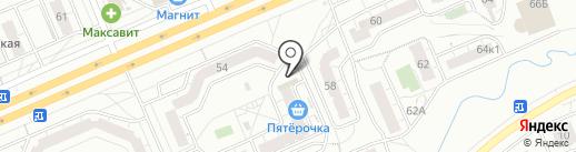 Мастерская по ремонту обуви и сумок на карте Чебоксар