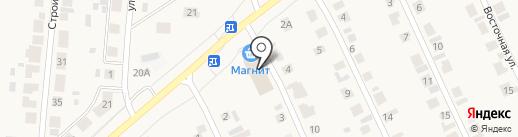 Прядка на карте Кугесей
