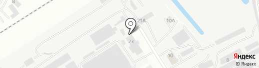 Вад на карте Чебоксар