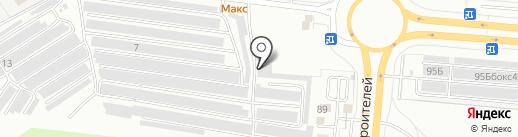 ДАРЕЛ-АВТО на карте Чебоксар