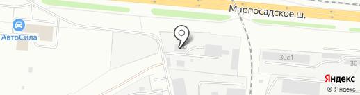Универсальные ходовые системы на карте Чебоксар