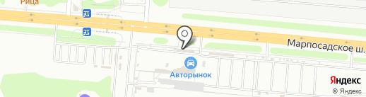 KeyMaster на карте Чебоксар