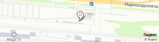 Магазин строительных материалов на карте Чебоксар