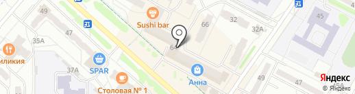 Андреевские полуфабрикаты на карте Новочебоксарска