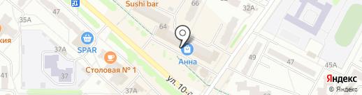 Хозяюшка на карте Новочебоксарска