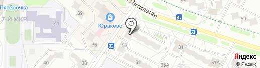 Банкомат, Восточный экспресс банк на карте Новочебоксарска