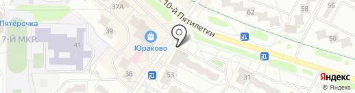 Ника на карте Новочебоксарска