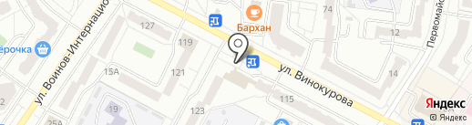 Магнит-Косметик на карте Новочебоксарска