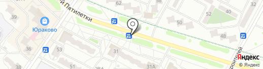 Амелия на карте Новочебоксарска