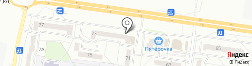 Красное & Белое на карте Новочебоксарска