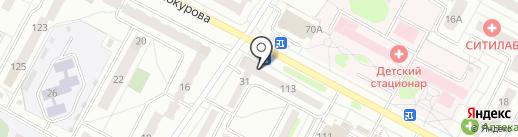 Статус на карте Новочебоксарска