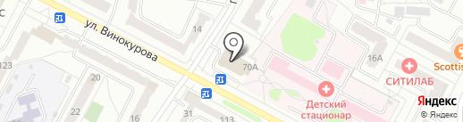 Пятёрочка на карте Новочебоксарска
