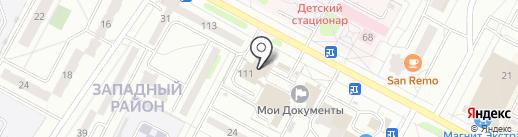 Грузинская выпечка на карте Новочебоксарска