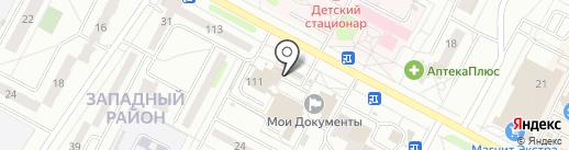 Алёна на карте Новочебоксарска