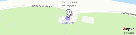 В засаде на карте Новочебоксарска
