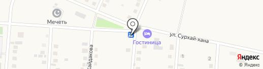 Чекмастер на карте Чапаево