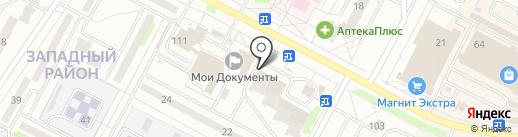 Эконом на карте Новочебоксарска